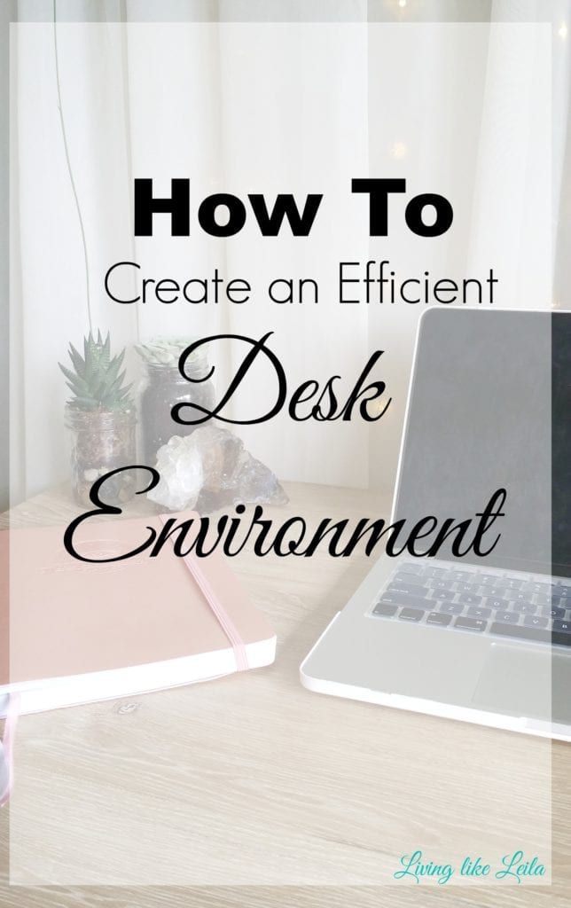 Are you having trouble trying to focus or get work done at your desk? Try revamping and organizing your desk space with these tips, and get inspired and motivated to get productive! --www.LivinglikeLeila.com--