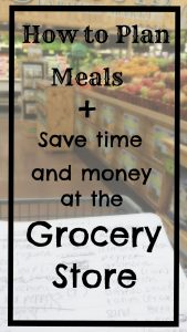 How to Plan Meals, Plus Save Time and Money at the Grocery Store --www.LivingLikeLeila.com--