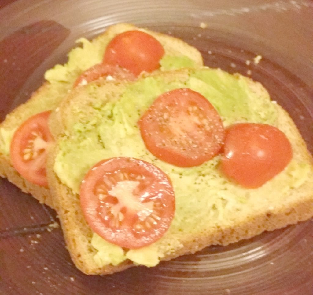 Avocado Toast with Campari Tomatoes