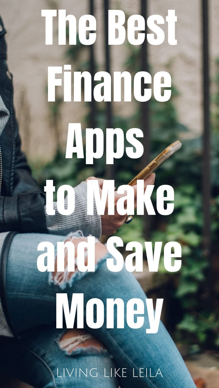 Looking for easy ways to make or save money? There's an app for that! From coupons, to investing, and credit checks, these are the best finance apps! Check them out at LivinglikeLeila.com!