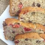 Vegan Cranberry, Chocolate Banana Bread