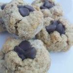 Vegan Peanut Butter Blossom Cookies