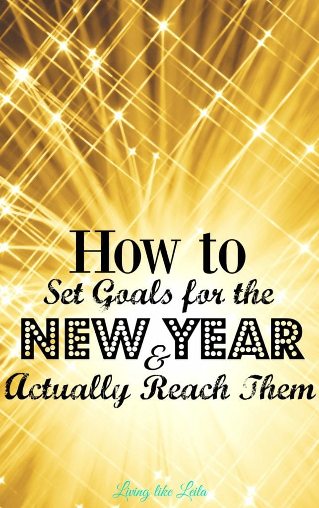 The New Year is the perfect time to set some big goals for yourself and start some positive habits. Setting goals can be easy, but make sure you check out these tips to make them count and actually reach them! Happy New Year, stay safe and wishing you the best! --www.LivinglikeLeila.com--