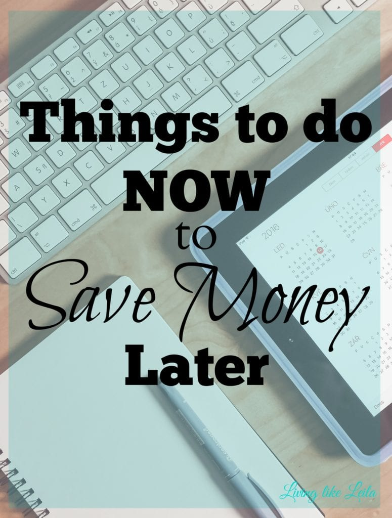 Are you doing things now that will benefit you in the long run? Or would you say you're more careless with your decisions? Check out these important things that you can do now to prevent money loss later and/or save thousands of dollars!! --www.LivinglikeLeila.com--