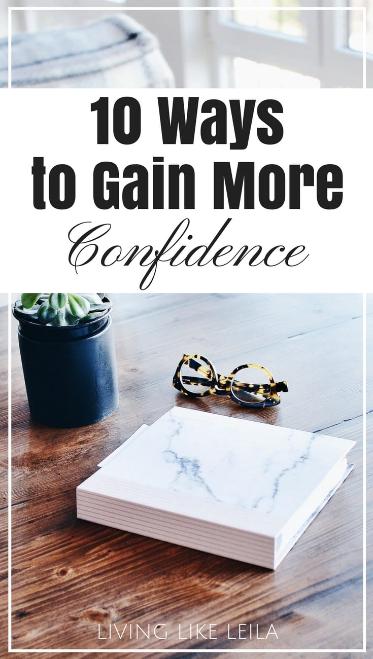 Are you confident in yourself? Confidence is really underestimated, but it can play a huge role in your job, relationships, and your day to day. If you want to start radiating positive energy and trusting in yourself, try these tips to lead you in the right direction! --www.LivinglikeLeila.com--