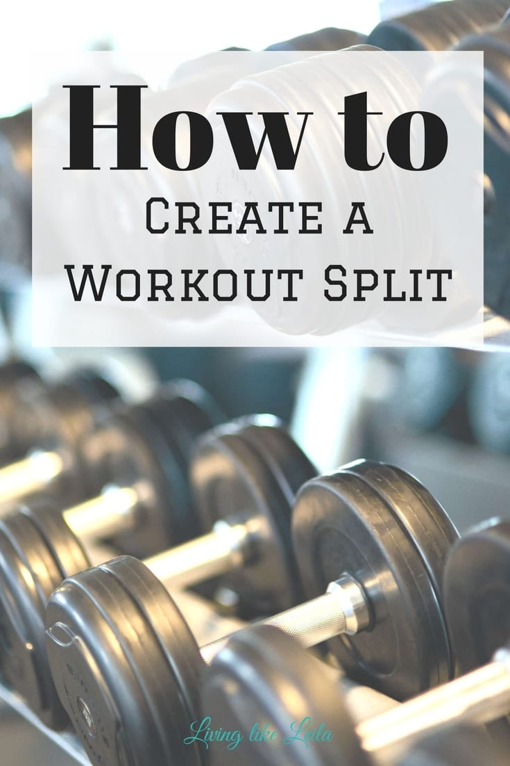 Not sure how to create a weekly workout split? I'll walk you step by step through this simple process and you'll be well on your way to reaching your fitness goals! --www.LivinglikeLeila.com--