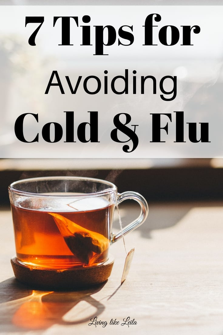 How to avoid catching the cold/flu and if you do, how to treat it fast!