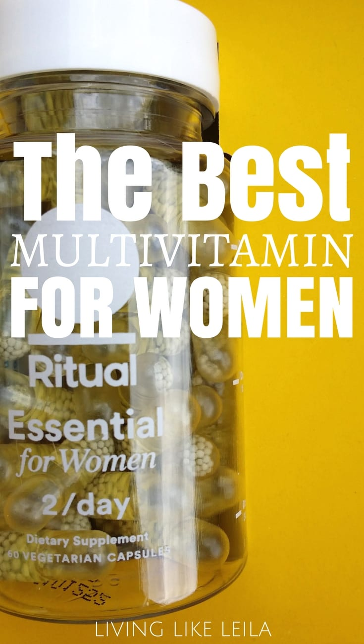 Looking for a multi-vitamin? Try Ritual risk-free for 30 days and look forward to more energy, clearer skin, and better health! Read my full review on Living like Leila!