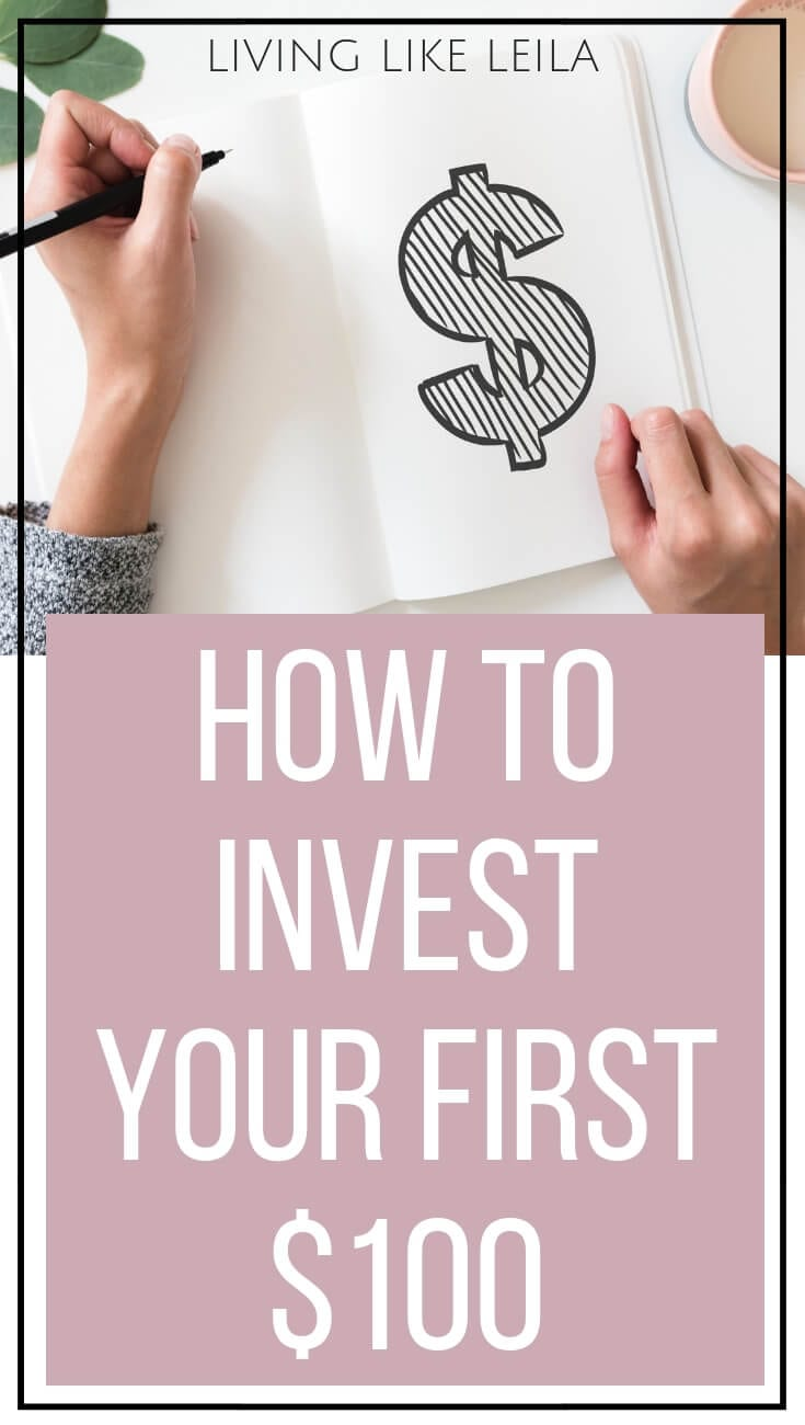 Interested in starting to invest but think you need thousands of dollars to do so? That's not true! Come read about several ways to begin investing with just $100 at LivinglikeLeila.com!